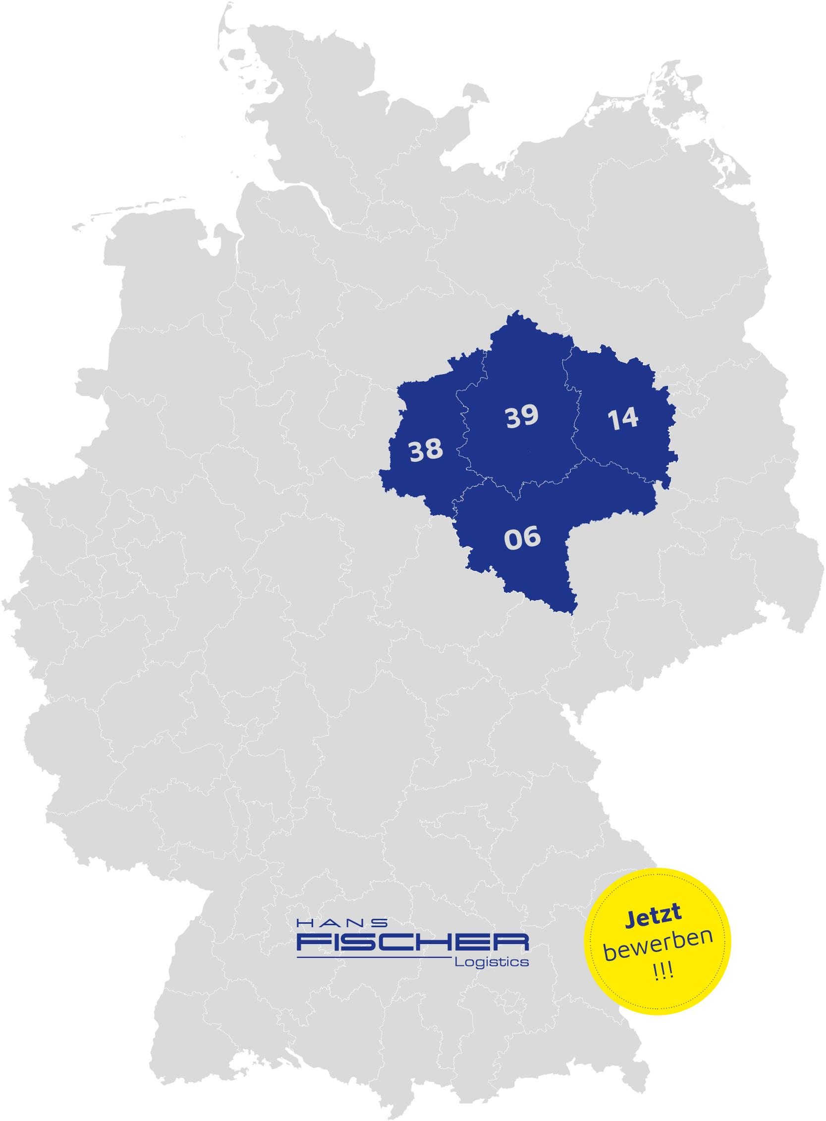 Fischer Karte Plz Gebiete 01 Fischer